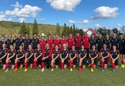 A Milli Kadın Futbol Takımının kampı başladı