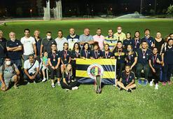 U20 Atletizm Liginde kupalar Fenerbahçenin