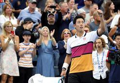 Japon tenisçi Nishikorinin koronavirüs testi pozitif çıktı