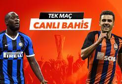 Inter - Shakhtar maçı Tek Maç ve Canlı Bahis seçenekleriyle Misli.com'da