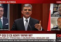 Abdullah Gül, CHPden aday yapılır mı Canlı yayında flaş açıklamalar