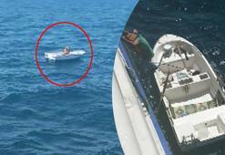 Marmaranın ortasında 3 gün yardım bekledi Çiğ balık yiyerek hayatta kaldı