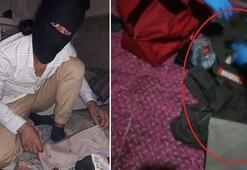 Bursada yakalanan DEAŞlı teröristin bomba yaparken fotoğrafı ortaya çıktı
