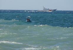 Boğulma tehlikesi geçiren adamı sahil güvenlik kurtardı