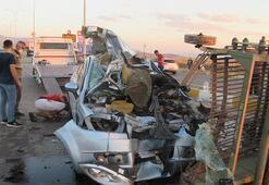 Zincirleme trafik kazasında ortalık savaş alanına döndü
