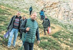 En anlamlı yürüyüş 3 bin metre yükseklikte kadınlar için buluştular
