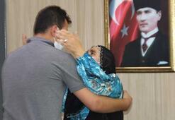Mardinde bir aile daha evladına kavuştu
