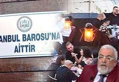 Son dakika... İstanbul Barosunun tesisine 'gece kulübü' baskını