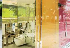 İçi görünen tuvaletler hizmete açıldı