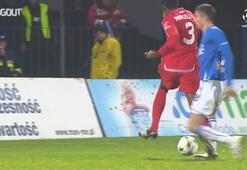 Lewandowski ve Marcelonun ilk kez karşı karşıya geldikleri maç