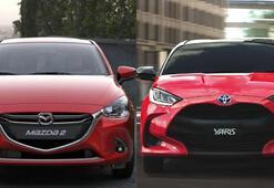 Toyota ve Mazdadan ortak üretim