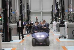 Türkiyenin ilk entegre güneş paneli üretim fabrikası açıldı