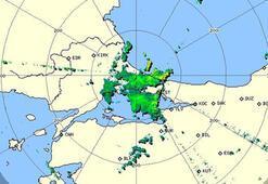 An itibarıyla İstanbul İşte son radar görüntüsü...