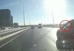 İstanbulda trafikte tartıştığı motosikletliye silah gösterdi