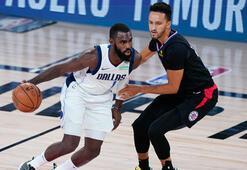 NBA play-offlarında Mavericks, Clippersı yenerek seriyi eşitledi