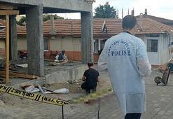 Edirnede inşaattan düşen işçi hayatını kaybetti