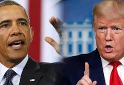 Obama ile Trump atıştı