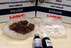 Çeşmede üzerinden 60 bin lira değerinde uyuşturucu çıktı