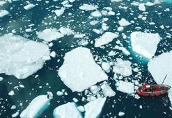 Tam 532 gigaton Grönlandda 2019da rekor düzeyde buzul eridi