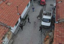 Kütahyada uyuşturucu satıcılarına şafak operasyonu