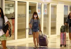 Antalyaya gelen turist sayısı 1 milyonu geçti