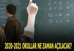 2020-2021 Okullar ne zaman açılacak 8. ve 12. sınıflara okullar ne zaman açılacak