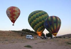 Denizlide sıcak hava balonu turları 162 gün sonra yeniden başladı