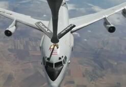 NATO uçağına Türk tanker uçağından yakıt ikmali