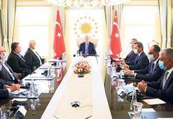 Erdoğan, Filistin liderleriyle görüştü