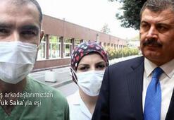 Sağlık Bakanı Koca: Hastalıkla savaştılar ve görevlerine döndüler