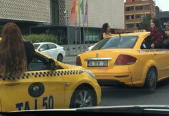 İstanbulda şok eden görüntü Genç kızların tehlikeli yolculuğu