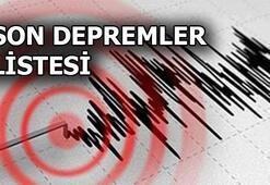 Son depremler listesi 23 Ağustos | Deprem mi oldu: AFAD - Kandilli Rasathanesi son dakika haberleri