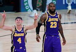NBA play-offlarında Lakers ve Bucks, öne geçti