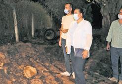 Alevler, arıtma tesisine sıçradı