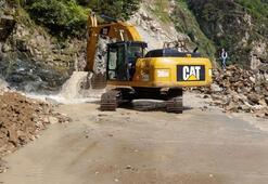 Ulaştırma Bakanlığı, Giresunda selden zarar gören yolları yeniliyor