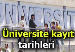 Üniversite kayıtları ne zaman başlıyor, ne zaman sona eriyor Üniversiteye kayıt yaptıracaklar dikkat...