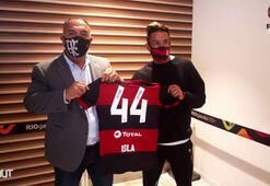 Mauricio Islanın Flamengo formasıyla ilk günü...