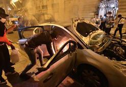 Pariste olaylar 16 polis yaralı, 148 kişi gözaltında...