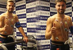 Filip Novak ve Sinan Gümüş sağlık kontrolünden geçti