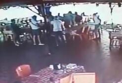 Azeri suç örgütü elebaşının katiliyle son yemeğinin görüntüleri ortaya çıktı