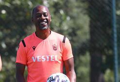 Trabzonspor'da Newton tempoyu yükseltiyor