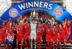 Bayern Münihin rekor sezonu Hans Flick ilk toplantıda...