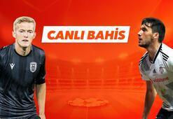 PAOK - Beşiktaş maçı canlı bahis heyecanı Misli.comda