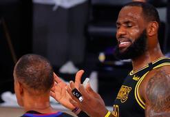 NBAde Lakers ve Bucks serilerde 3-1 öne geçti