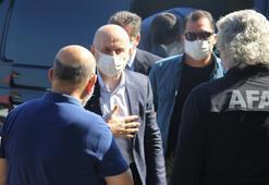 Ulaştırma ve Altyapı Bakanı Adil Karaismailoğlu Giresunda