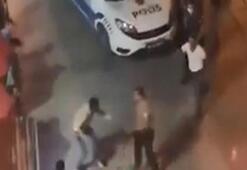 Tekirdağda polisi darp etmeye çalışan zanlı gözaltına alındı