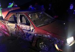 Sivasta iki otomobil çarpıştı: 7 yaralı