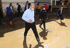 Giresunda sel felaketi Bakan Soylu: 7 vatandaş her yerde aranıyor