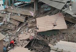 5 katlı binanın enkazından 60 kişi kurtarıldı