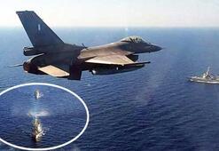 ABD ve Yunanistan savaş gemileri, Türkiyeye karşı İlk fotoğraflar geldi...
